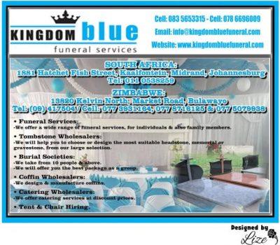Kingdom Blue Funeral Parlour Johannesburg
